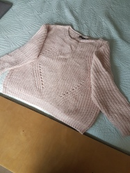 ITEM Pink sweater SIZE 16 DESIGNER Brave Soul MATERIAL Acrylic CONDITION Very good