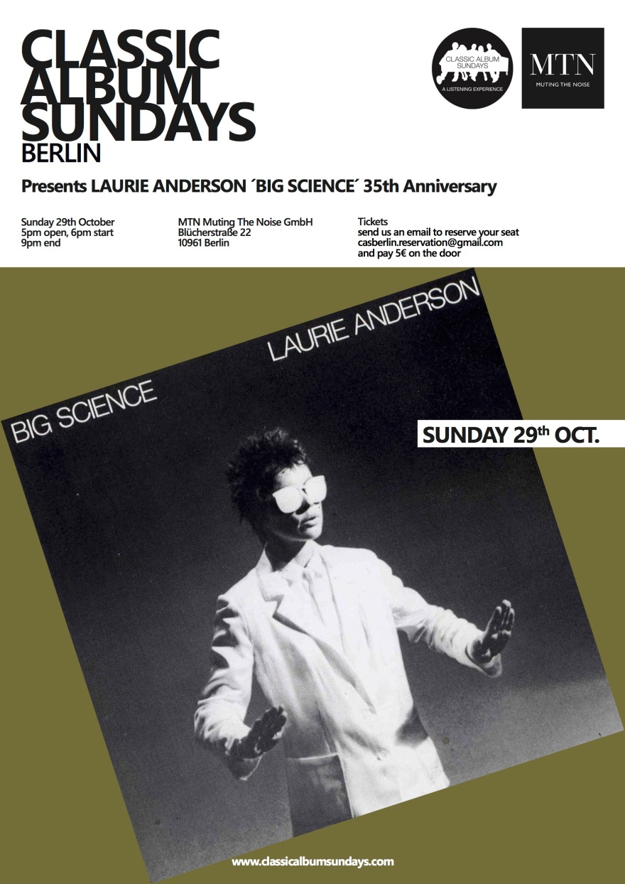 laurie anderson poster green